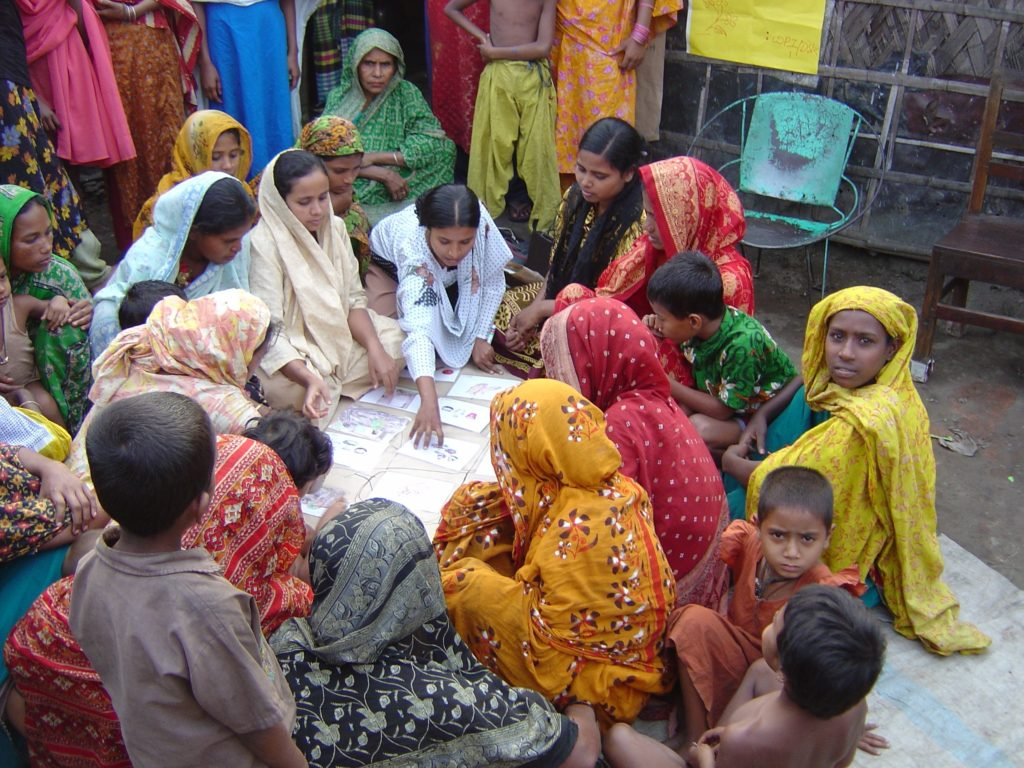 Community Based Organization in Dhaka - photograph by Gary White, flickr