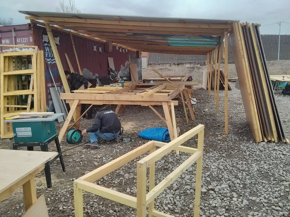 The building workshop. Copyright: Utopia56